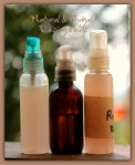misting spray bottles, travel size