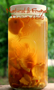 infused orange vinegar
