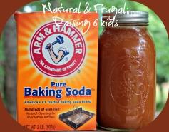 honey & baking soda
