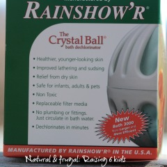 Crystal Bath Ball Dechlorynator BATH 3000 series 2