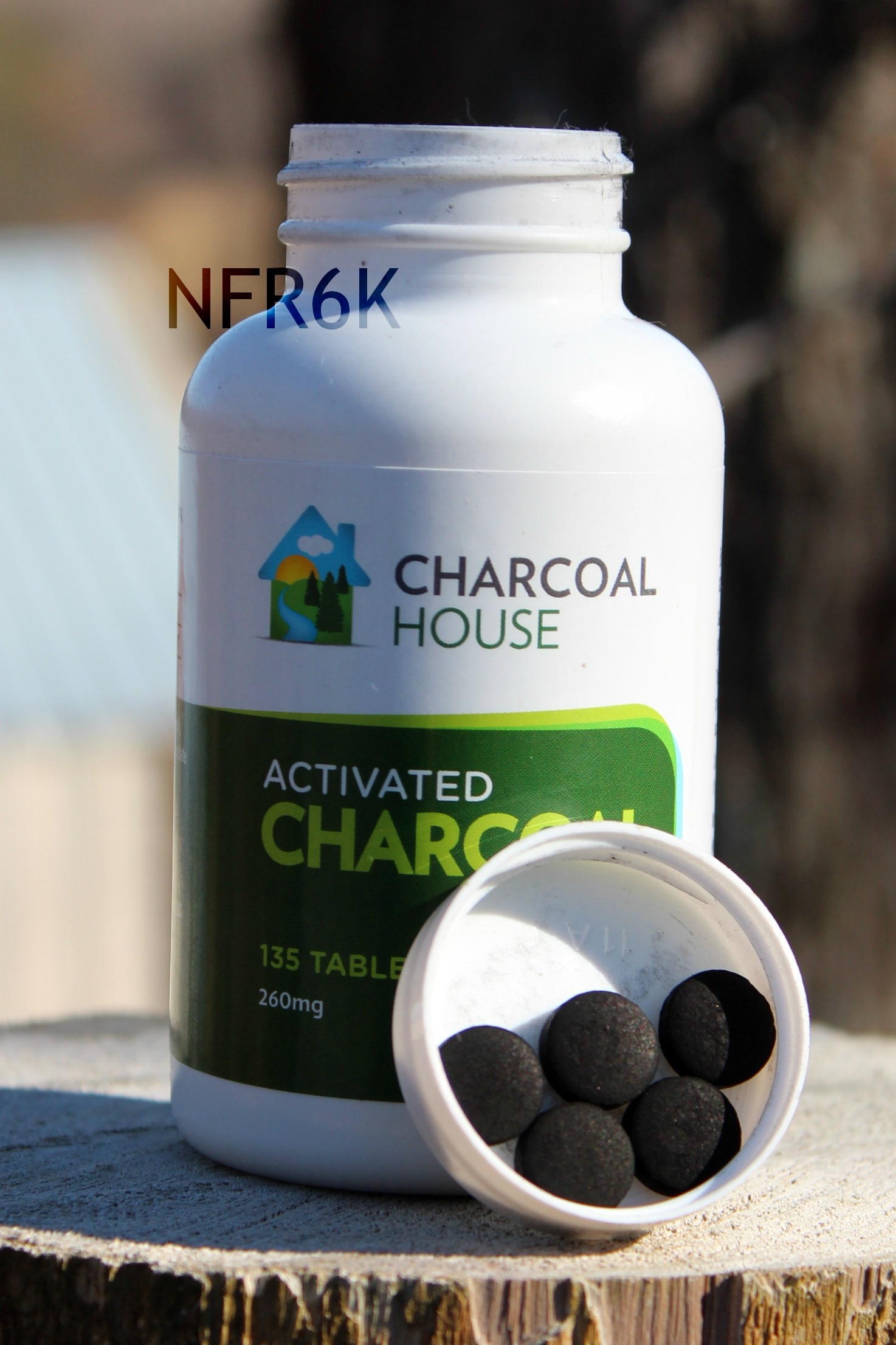 Activated Charcoal Tablets Capsules For On The Go Food