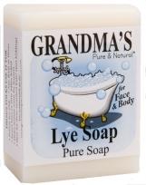 Grandmas lye soap