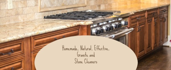 Homemade, Natural, Effective, Granite and Stone Cleaners