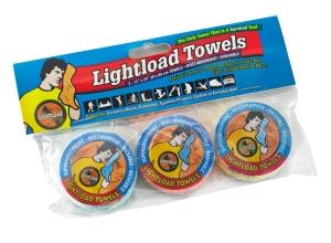lightload towel 3 pack