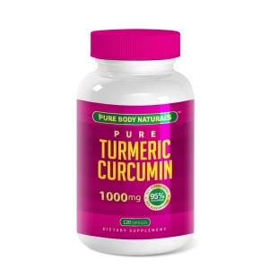 Turmeric curcumin pure body naturals