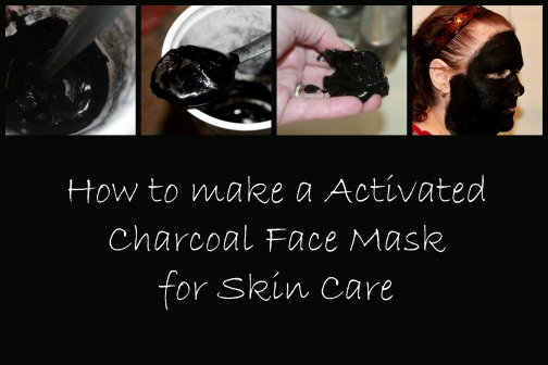 Charcoal face mask Collage