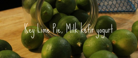 Key Lime Pie Milk kefir yogurt